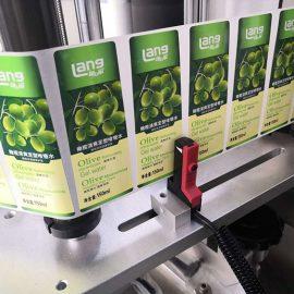 Automatische voor- en achterkant dubbelzijdige etiketteringsmachinegegevens