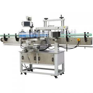 Four Sides Container Sticker Food Box Labeling Machine