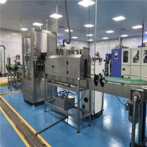 Bottom Labeling Machine With Feeder China