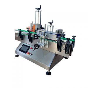 Automatische ampulsticker-etiketteermachine met codeprinter