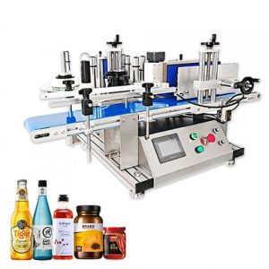 Automatische plastic verf kleur emmers etiketteermachine