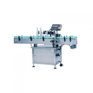 Double Labeling Heads Adhesive Sticker Labeling Machine