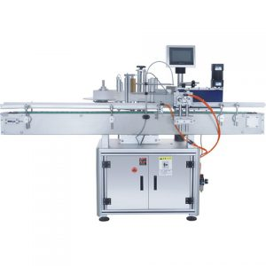 Automatic Round Wine Olive Oil Bottle Labeling Machine