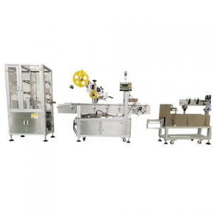 Automatic Front Back Top Labeling Machine
