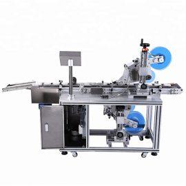 Automatische boven- en onderkant vlakke etiketteringsmachine-details